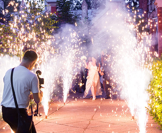 Wedding videography photography