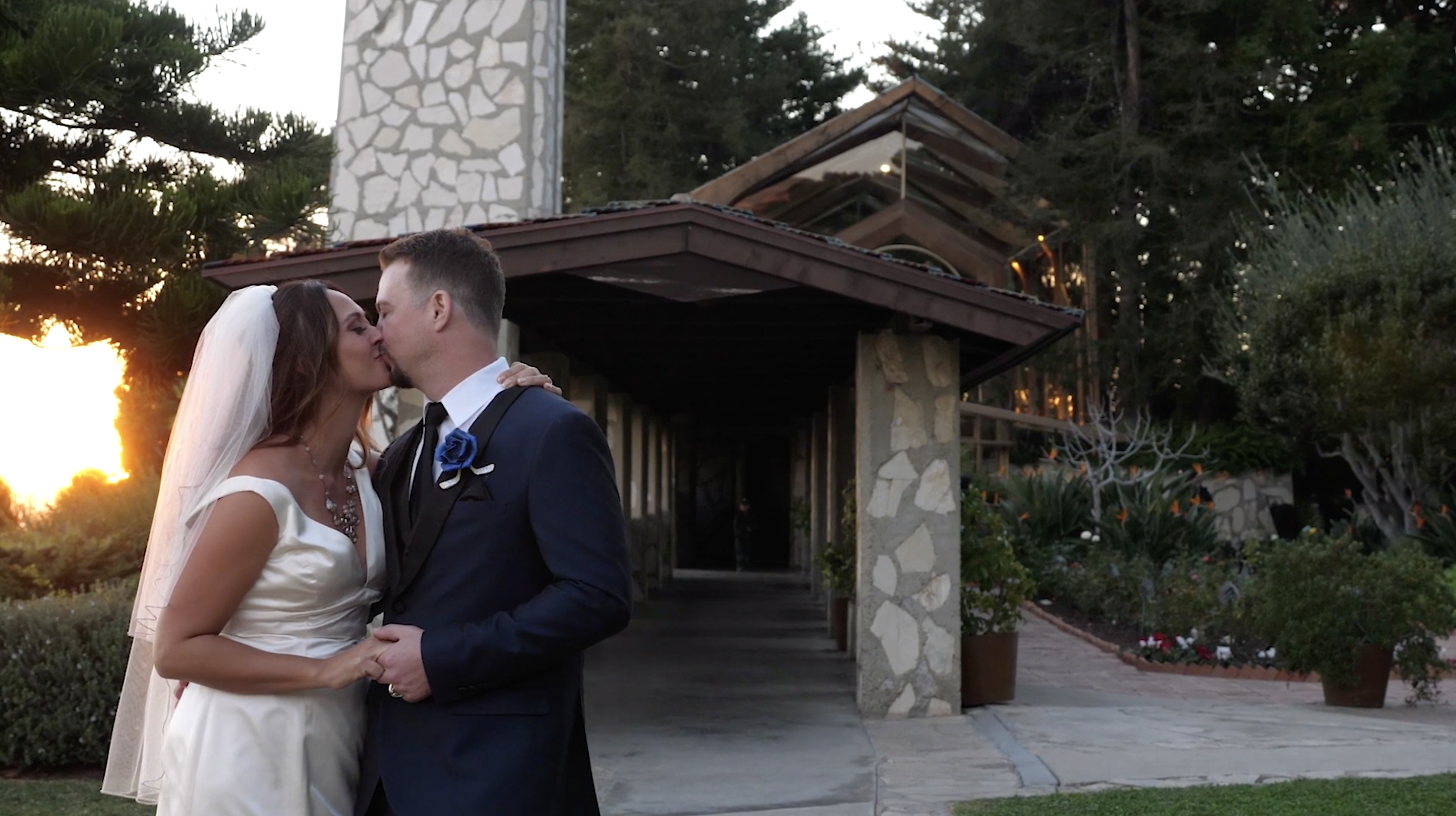 Wayfarers Chapel Wedding Video