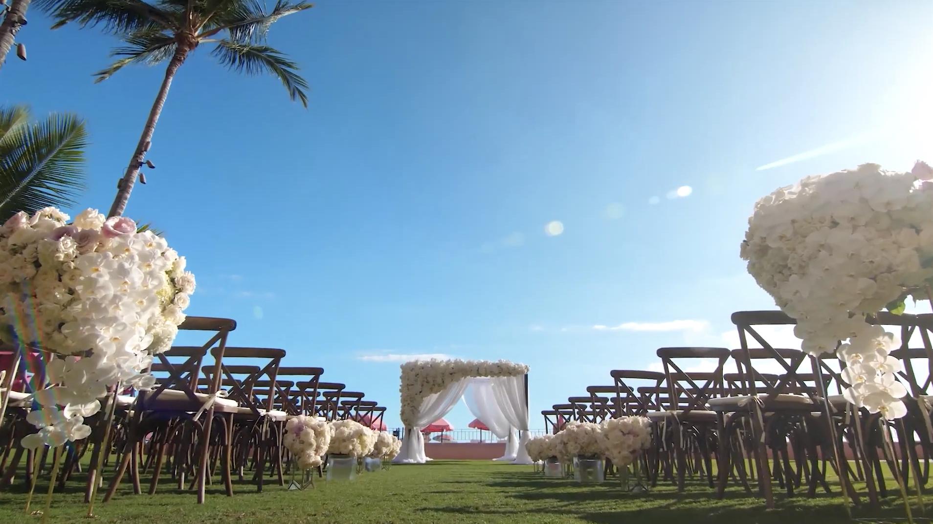 Royal Hawaiian Wedding Video