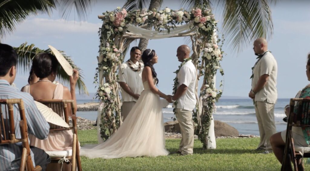 olowalu plantation house wedding video