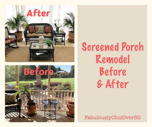screened porch remodel