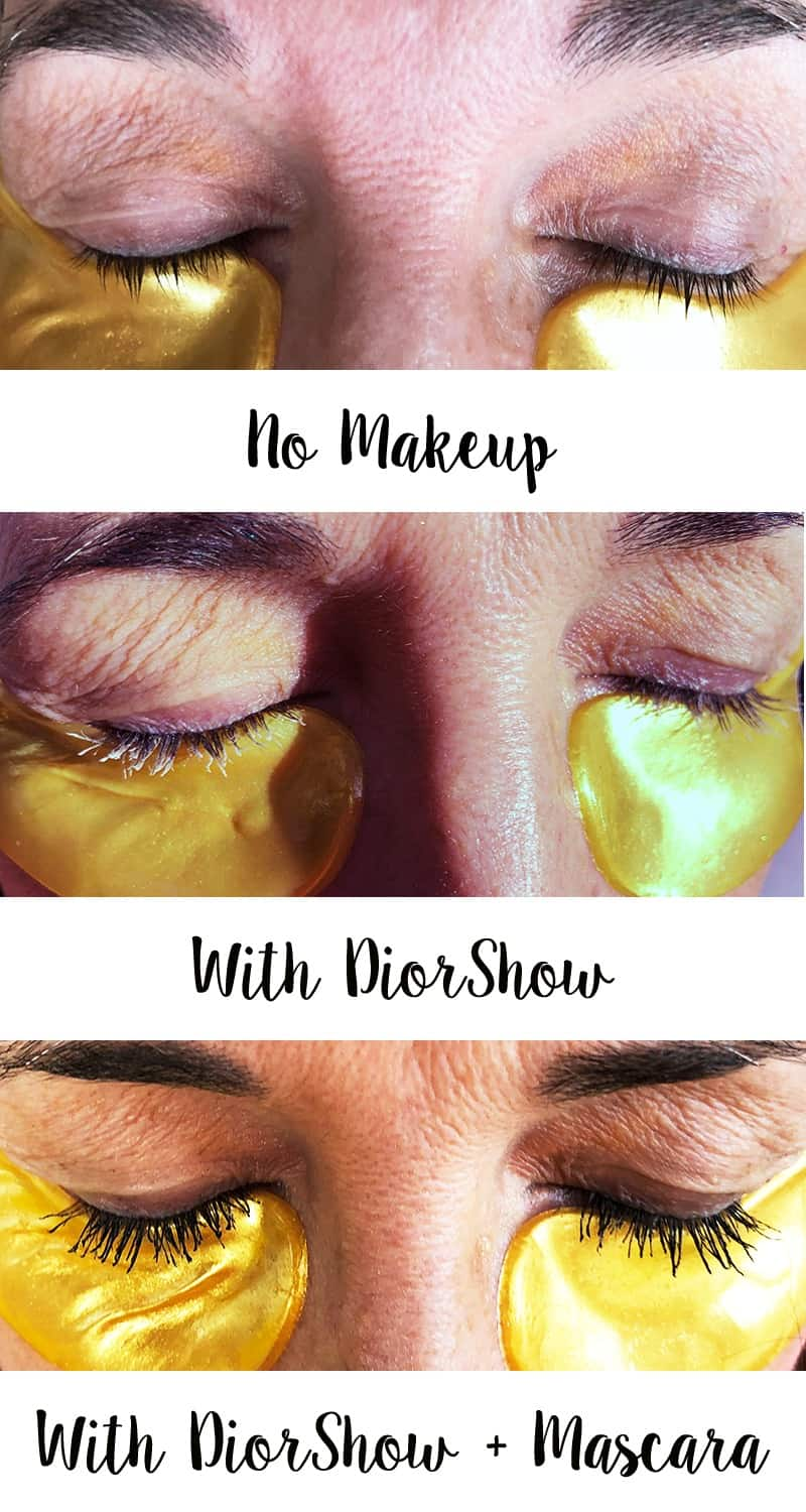 diorshow lash serum before and after