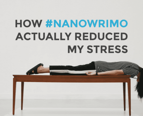 National Novel Writing Month reduced my stress