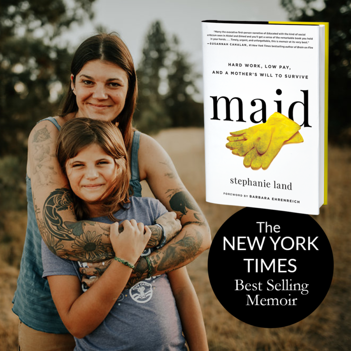 New York Times Bestselling author stephanie land, client