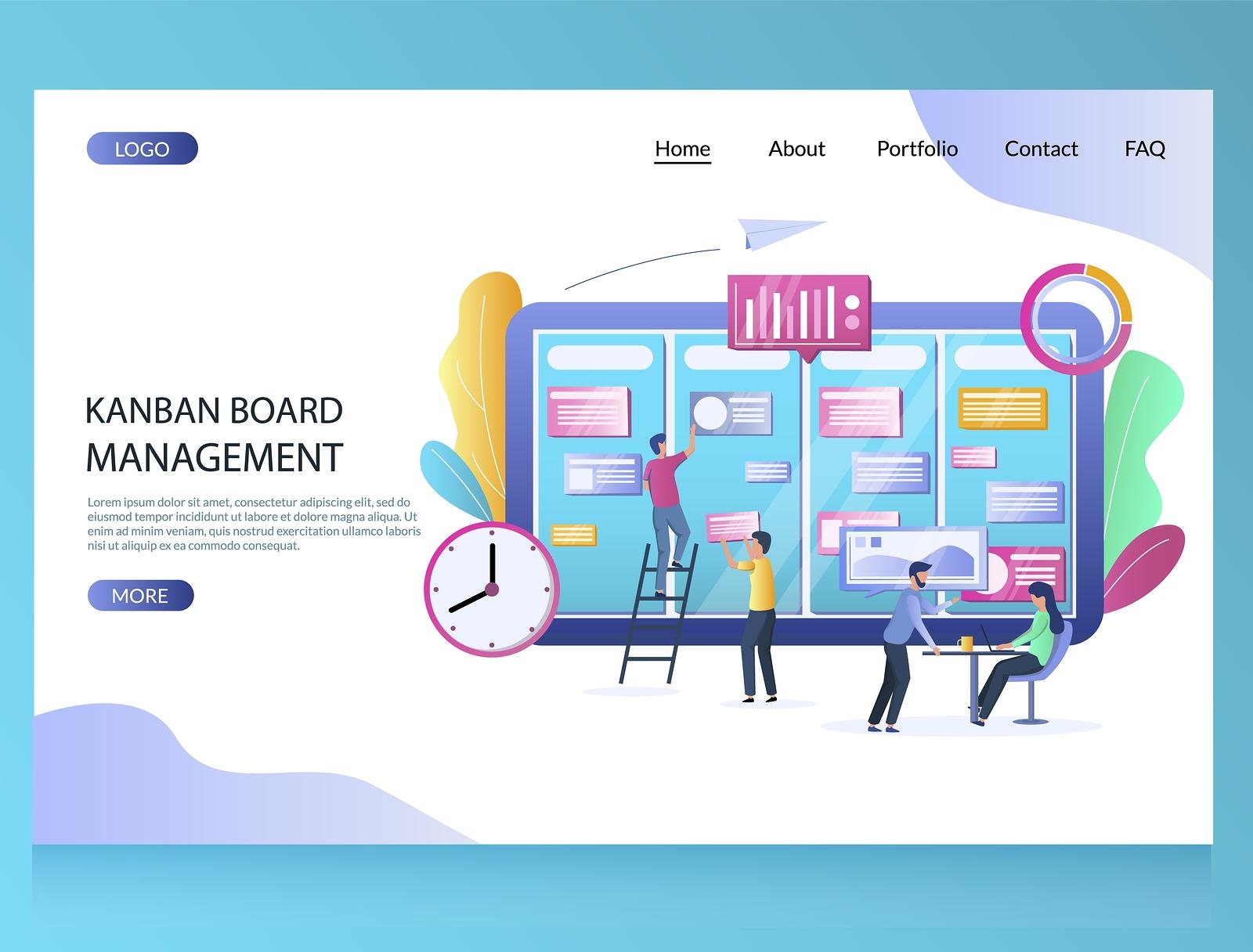 Kanban Board Management