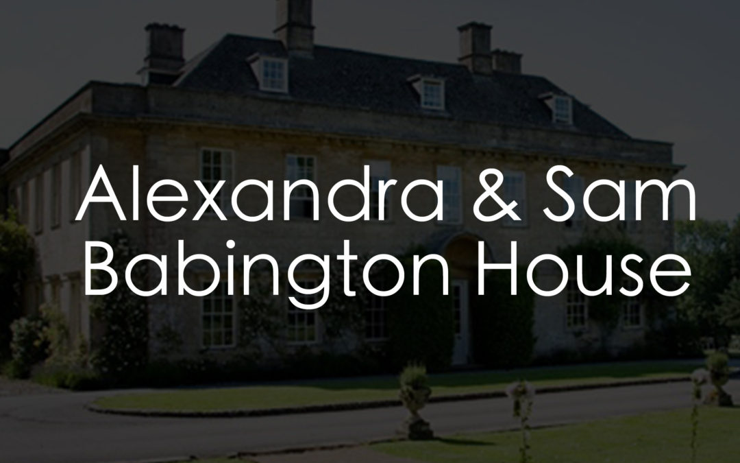 GIF Photo Booth Somerset | Alexandra & Sam | Babington House Wedding