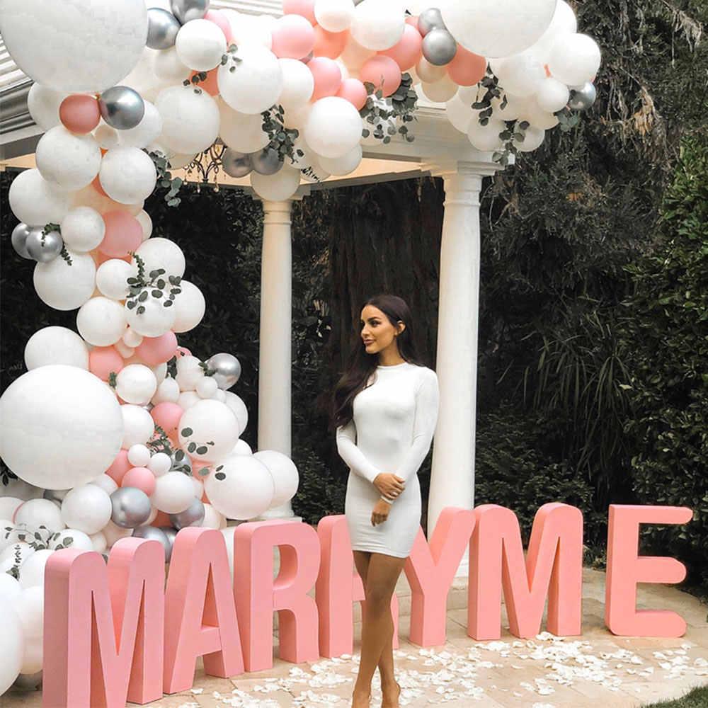 Engagement balloon garland inspiration