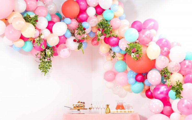 Balloon garland inspiration