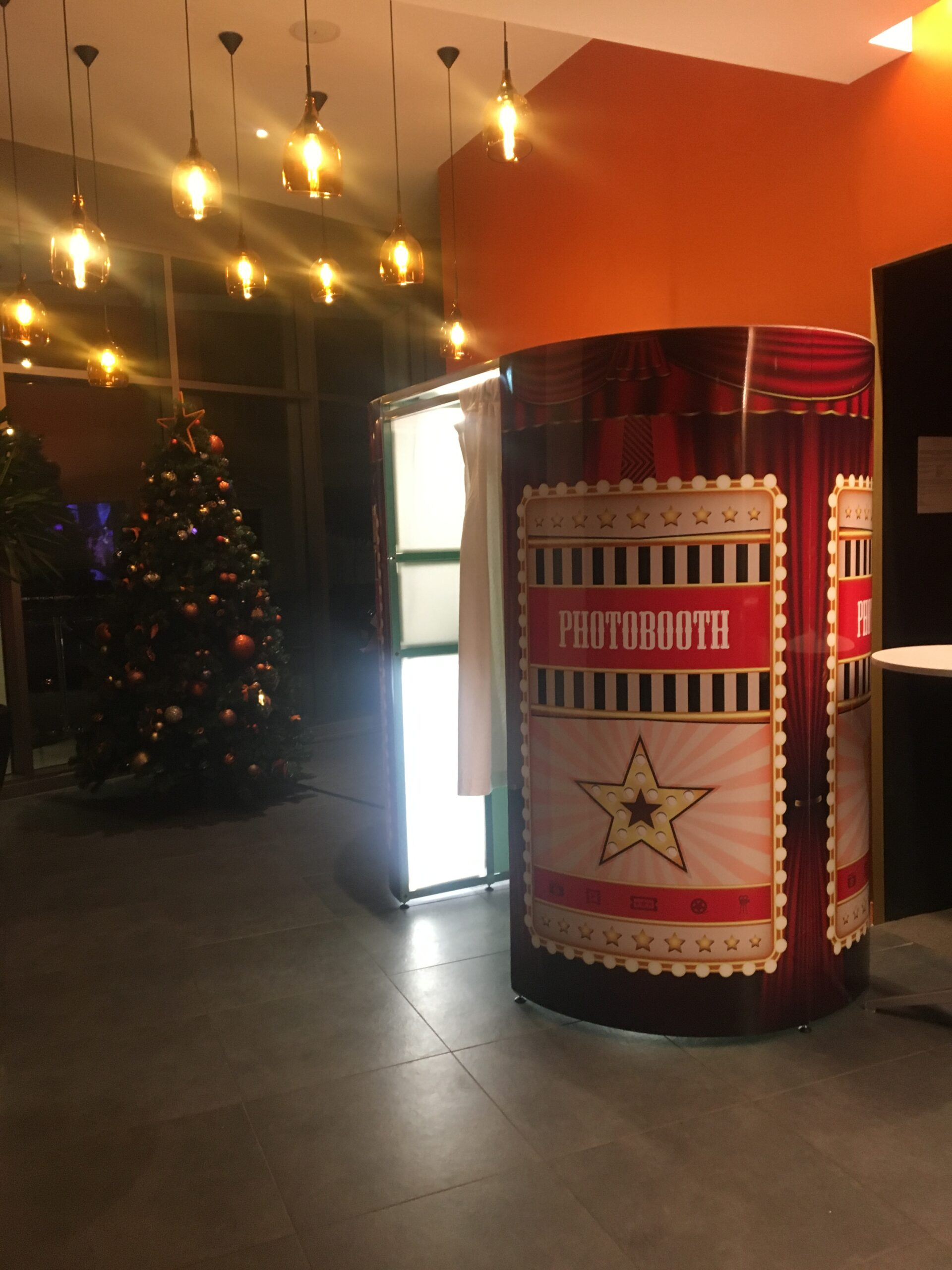 Corporate photo booth hire in Bath