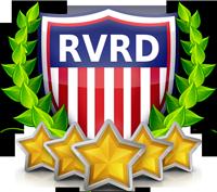 RVRD 5-star certified logos