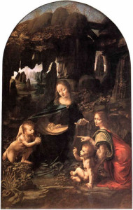 """Virgin of the Rocks"" by Leonardo da Vinci"