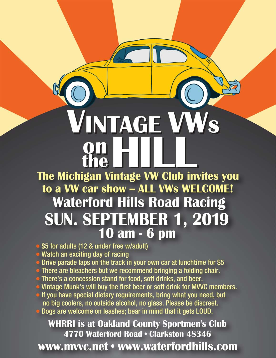 MVVC on the Hill 2019