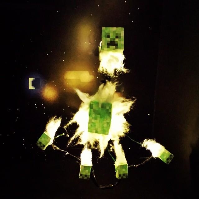 Minecraft Explosion!