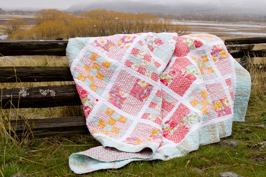 Chatsworth Quilt – FINISHED!