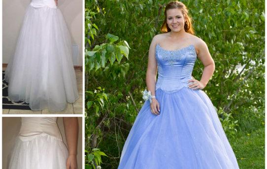 Harley's Prom Dress Refashion