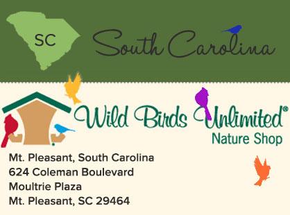 Wild Birds Unlimited | South Carolina