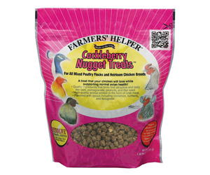 Cackleberry Nugget Treats for Avian Use