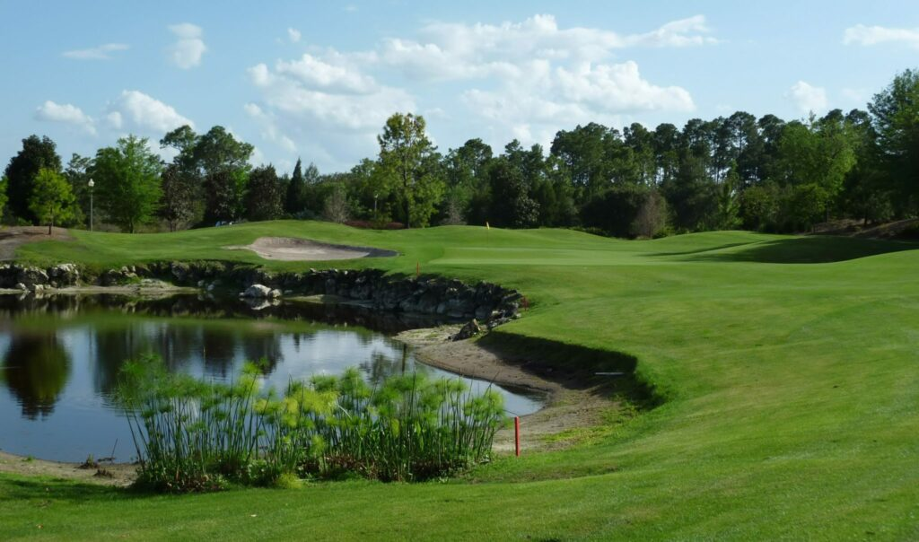 Orange Lake Legends Golf Vacation Rental near Disney