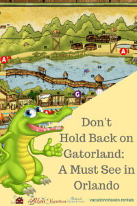 Don't Hold Back on Gatorland; A Must See in Orlando
