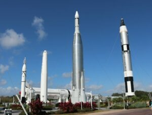 Graveyard at Kennedy Space center
