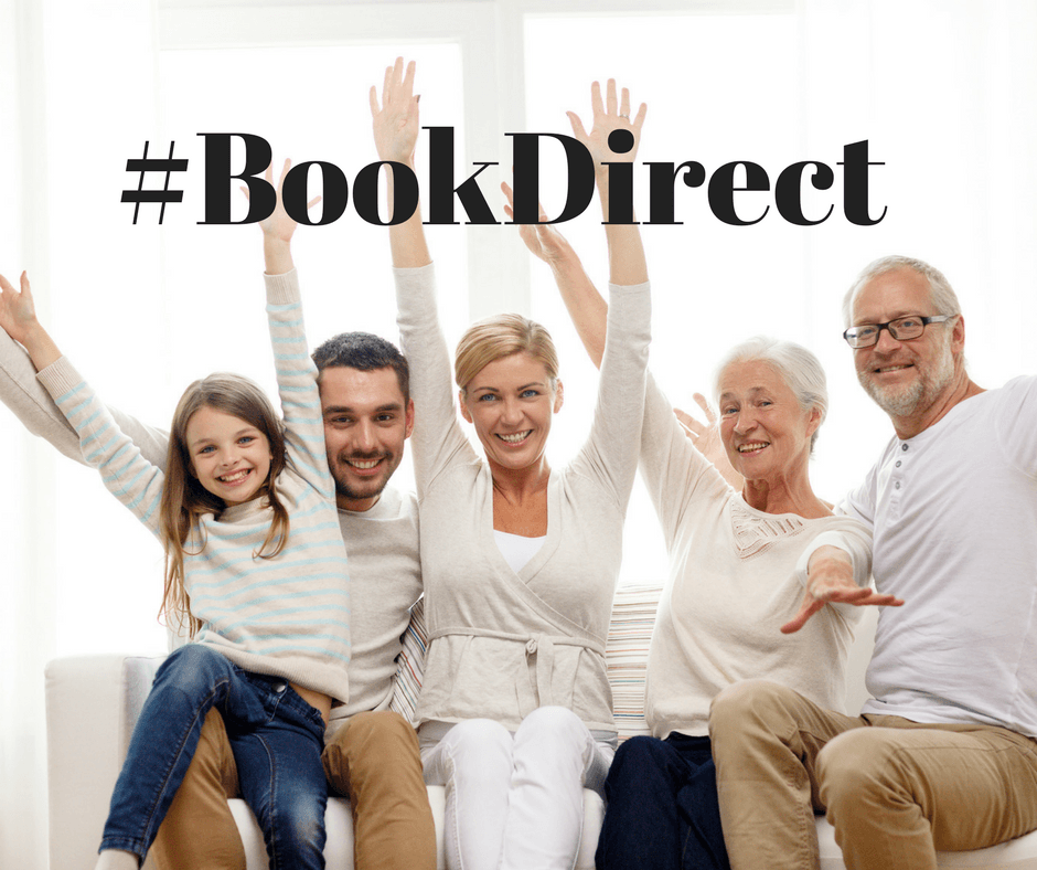 #BookDirect Vacation Rental Homes