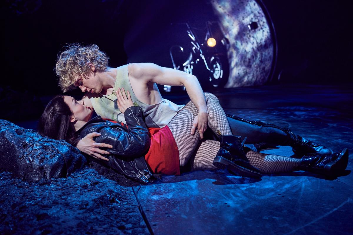 Andrew Polec as Strat & Christina Bennington as Raven