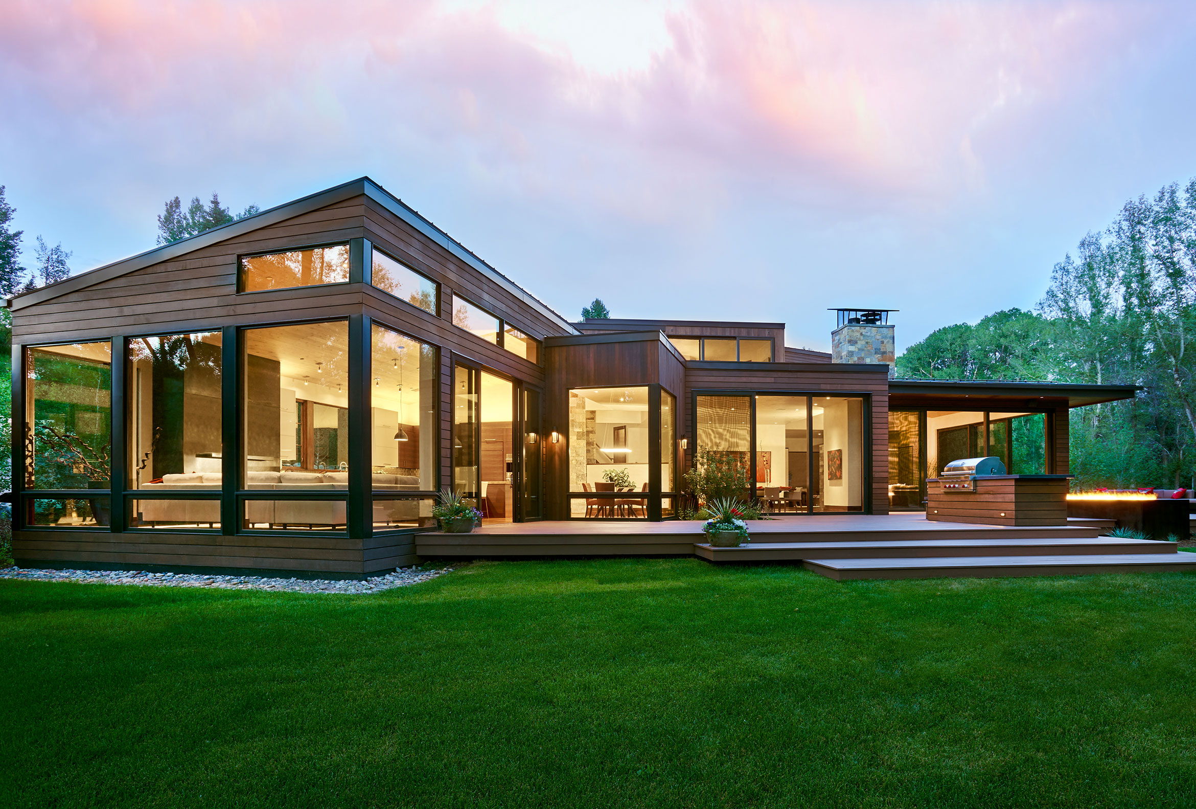 Brewster McLeod Architects River Residence