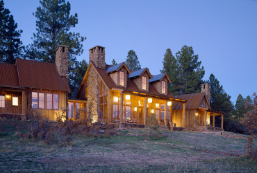 Cabin in the Woods Brewster McLeod Aspen Architects