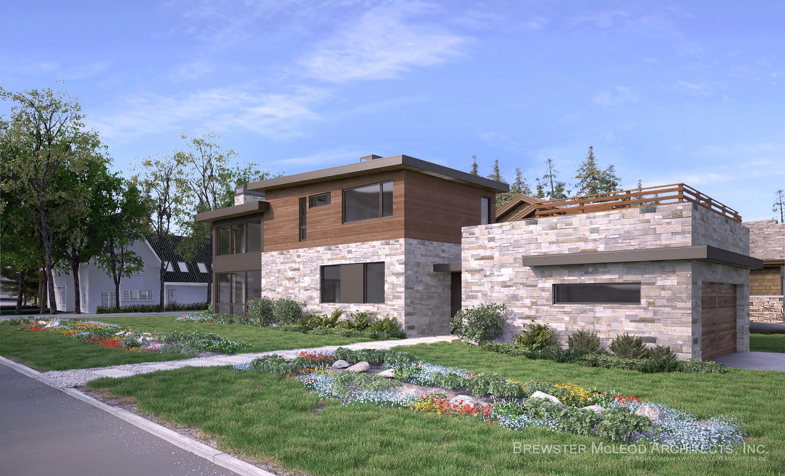 Brewster McLeod Architects Smuggler Residence Aspen