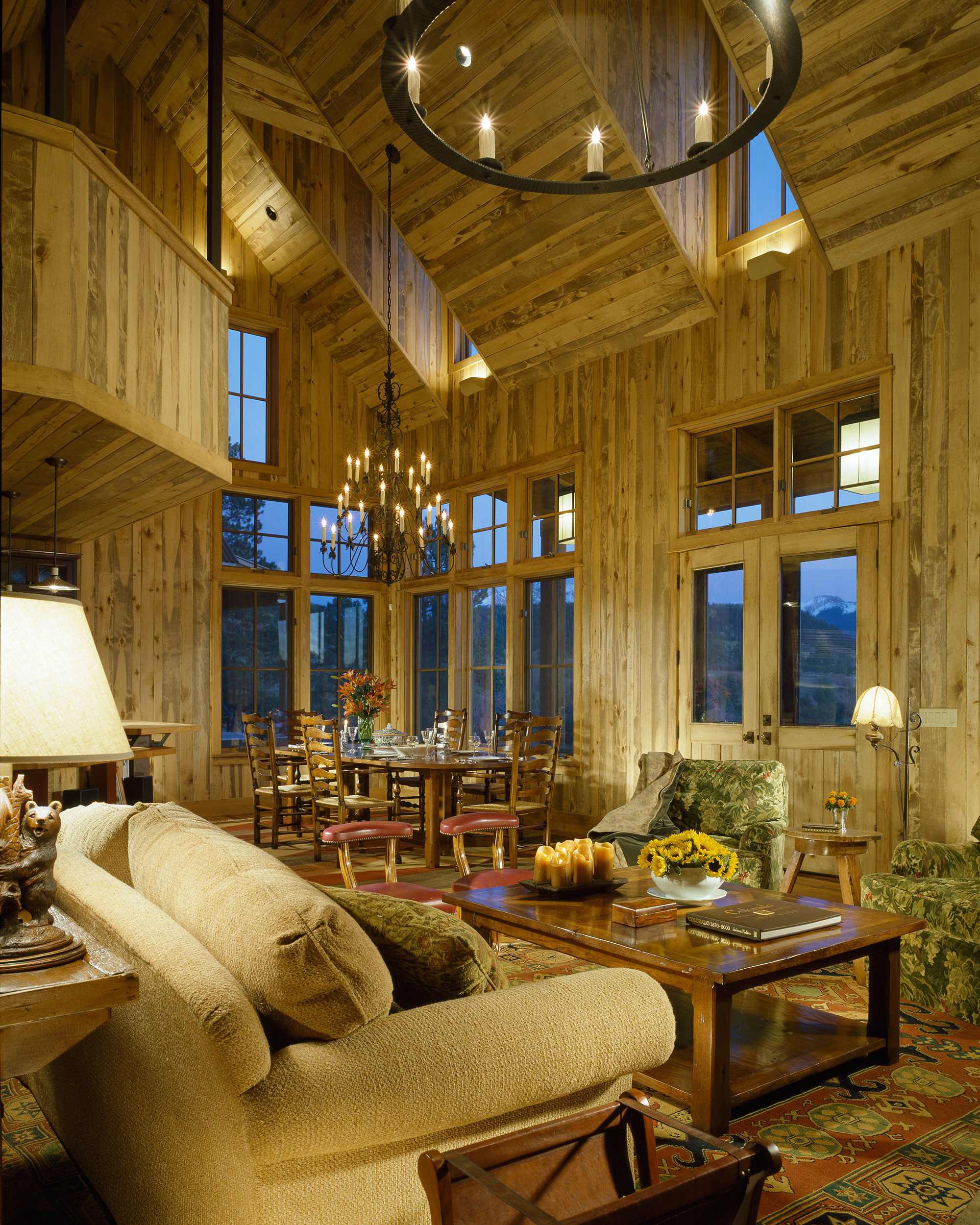 Cabin in the Woods Brewster McLeod Architects