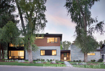 Aspen Smuggler home designed by Brewster McLeod Architects