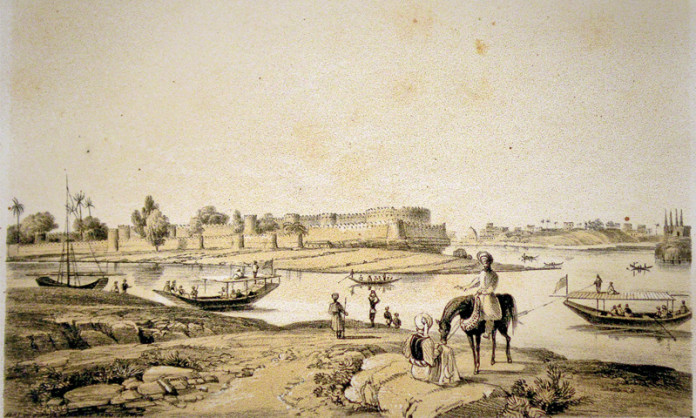 The Spectacular fort of Bukkur
