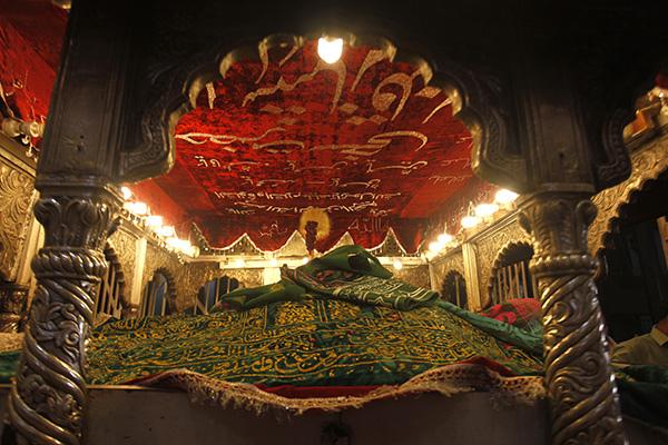 The Holy Sufi Saint Lal Shahbaz Qalandar