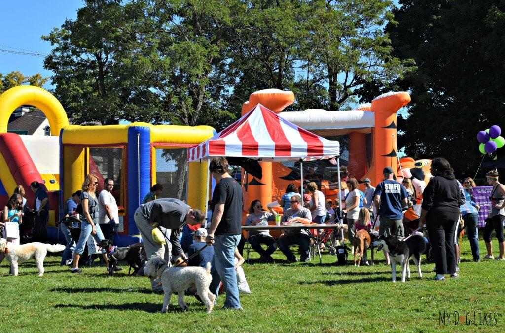 The Kid Zone at Lollypop Farm Barktober Fest