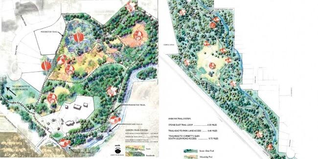 Corbett's Glen Map - Rochester, NY