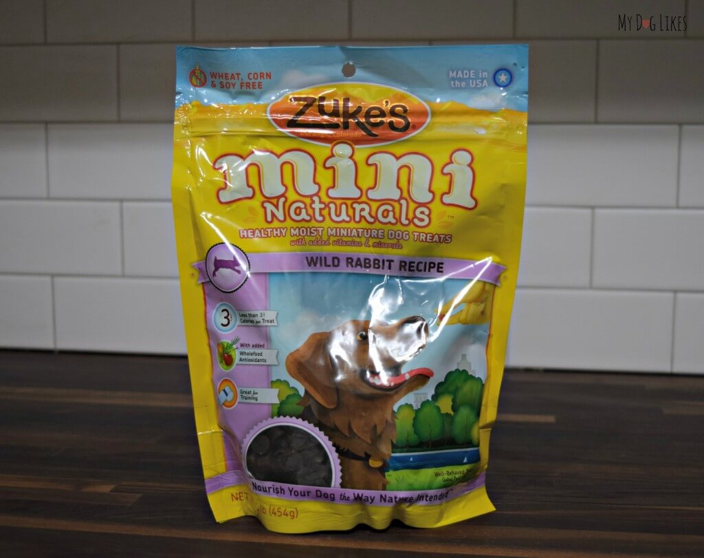 One of the many flavors of Zuke's Mini Naturals! The Wild Rabbit is sourced from New Zealand.