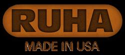 RUHA leather makes custom laser engraved dog collars