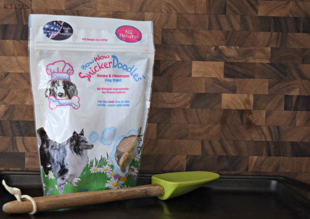 MyDogLikes reviews Bow Wow SnickerDoodles from Paws Barkery!