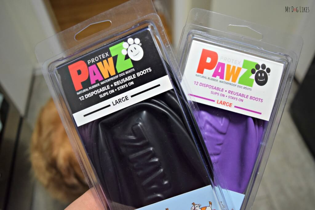 MyDogLikes Pawz Dog Boots Review! Pawz are a disposable, reusable and biodegradable dog boot!
