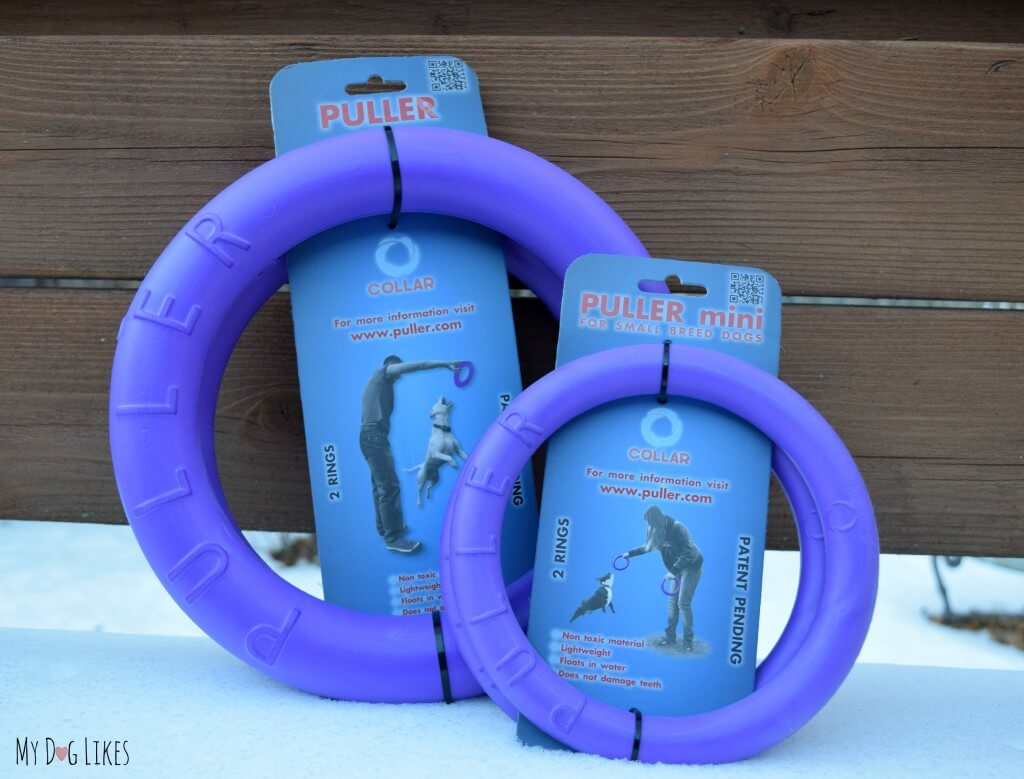 The Puller is one of the most versatile dog toys around - great for fetch, tug, training and more!