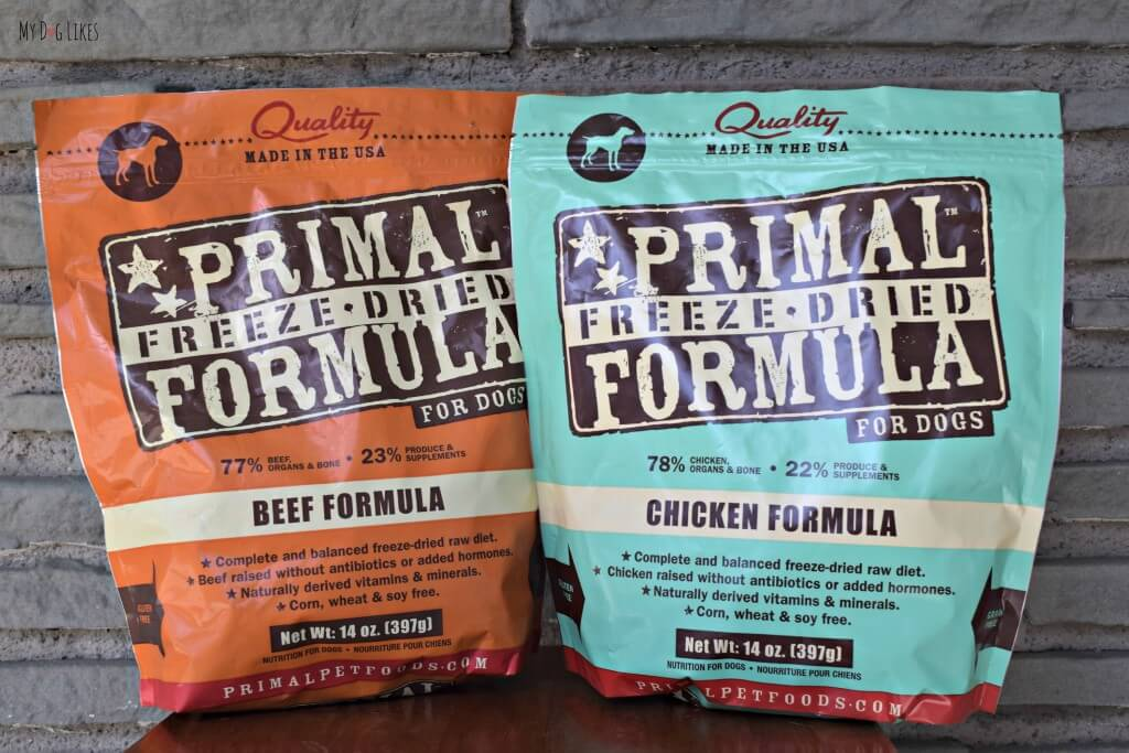Primal Freeze Dried Nuggets are a convenient way to incorporate raw feeding into your dogs diet