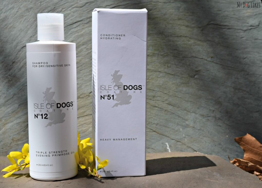 Isle of Dogs Coature line is some of the best dog shampoo on the market