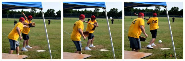 Beep Baseball is a modified version of baseball designed for the visually impaired.