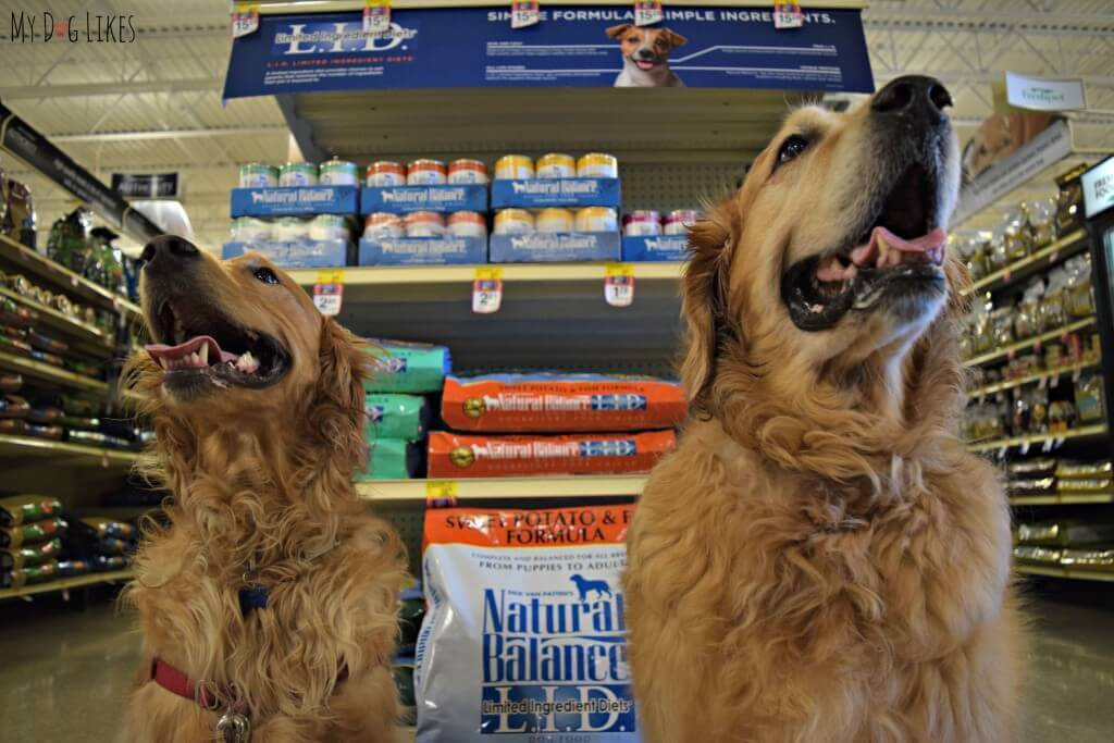 Did you know that Natural Balance is now available at PetSmart? This includes all varieties including our boys favorite: Natural Balance LID