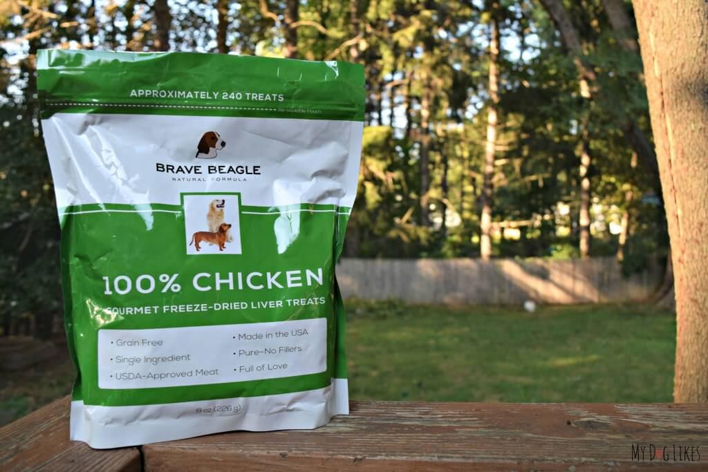 Brave Beagle dog treats review