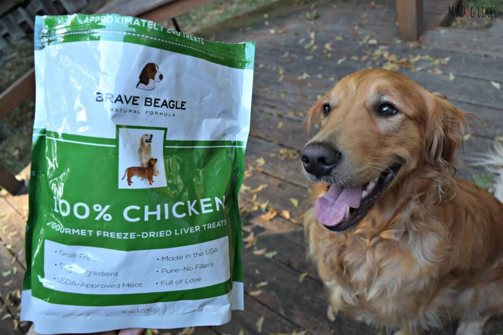 MyDogLikes reviews the latest product from our friends at Brave Beagle: Freeze Dried Liver Dog Treats!