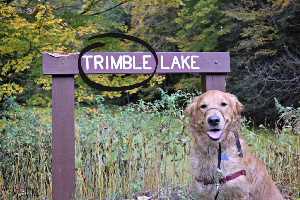 Trimble Lake at Durand Eastman Park near Rochester, NY
