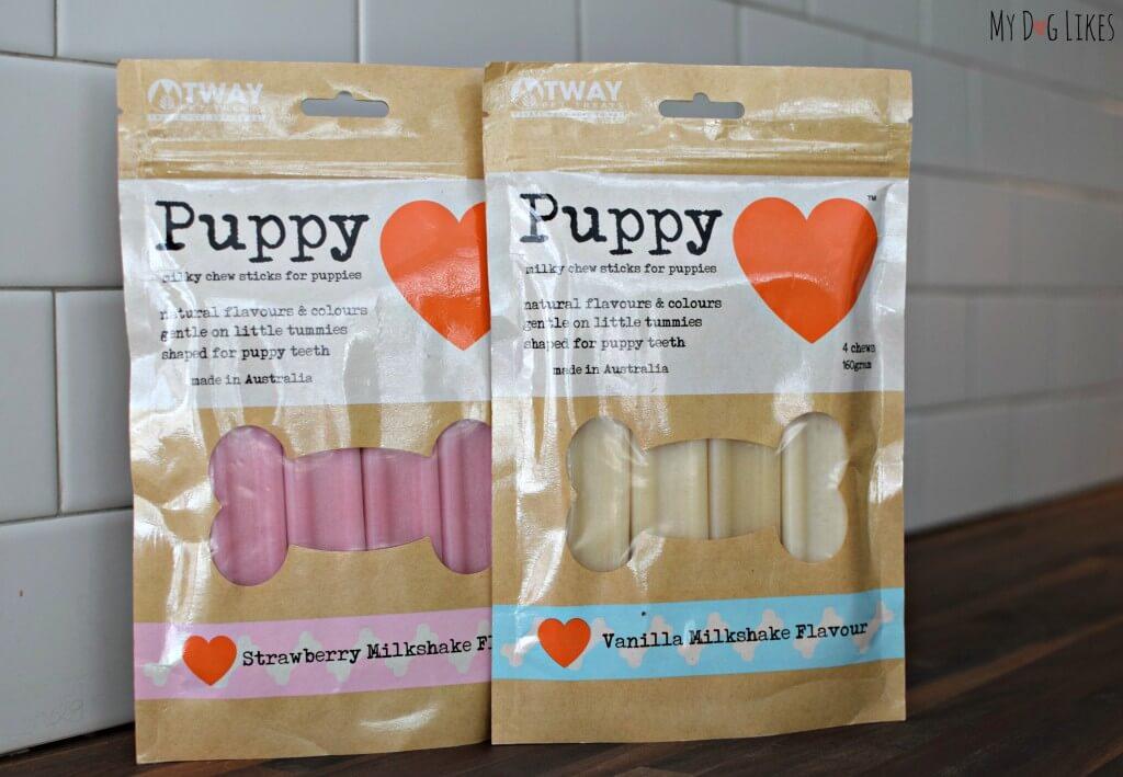 Puppy Love Milky Chew Sticks