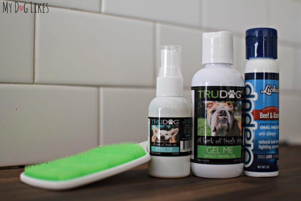 "MyDogLikes reviews ""Gel Me"" Doggy Dental Gel from TruDog"