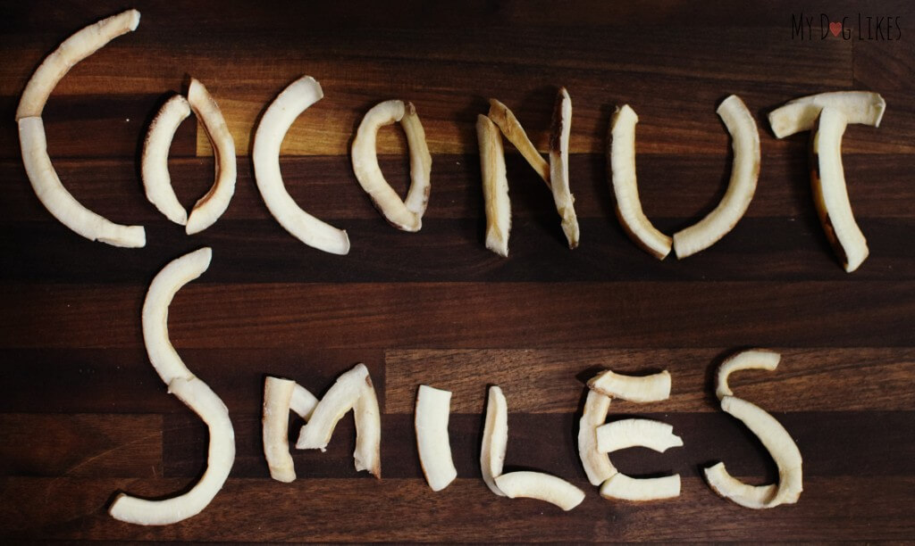MyDogLikes reviews Coconut Smiles from Dr. Harvey's